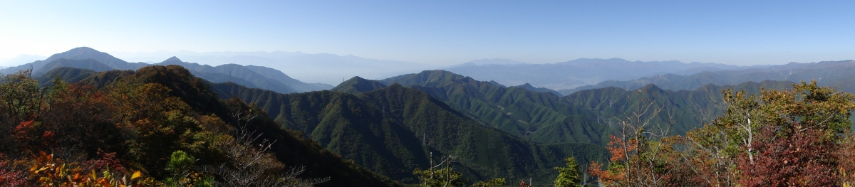 Honjagamaru (1631m), Otsuki City, YamanashiPrefecture