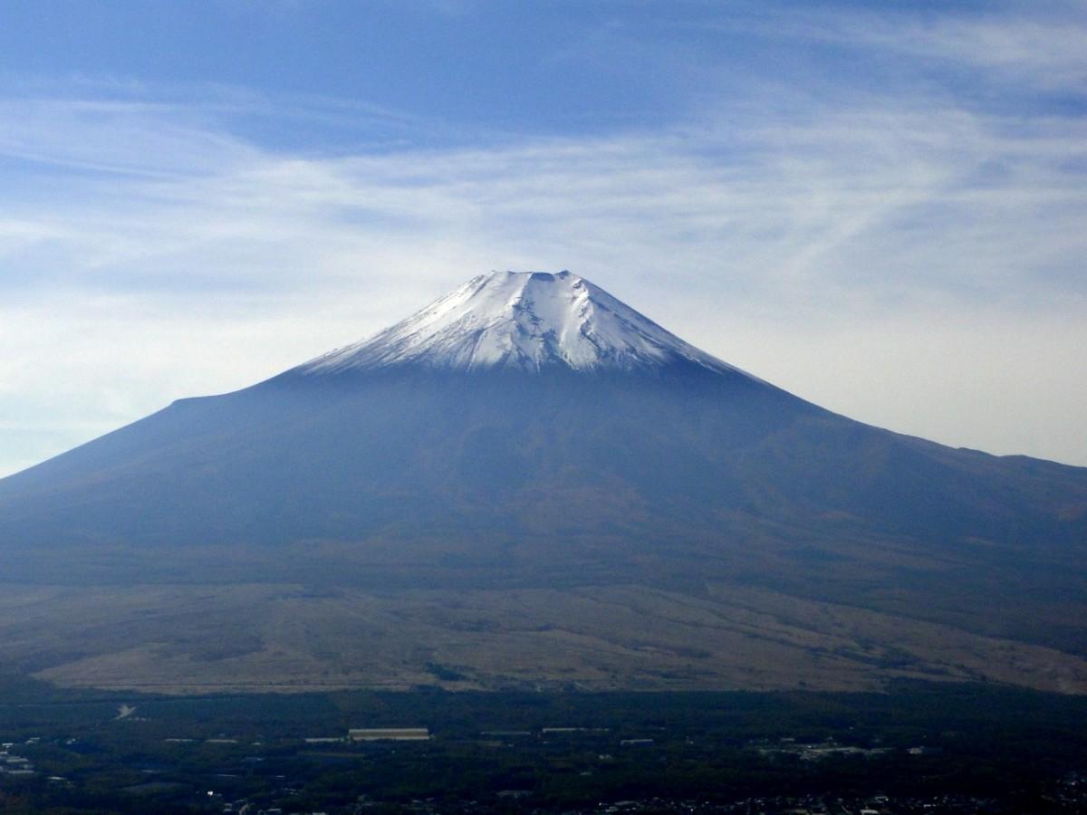 Mt Shakushi (1597m), Fujiyoshida City, YamanashiPrefecture