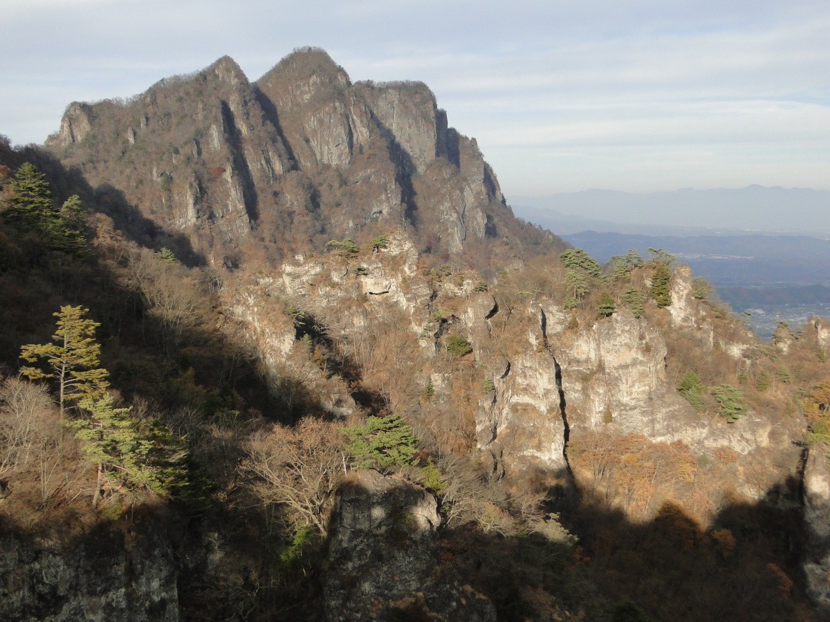 Mt Myogi Chukan Path, Annaka City, GunmaPrefecture