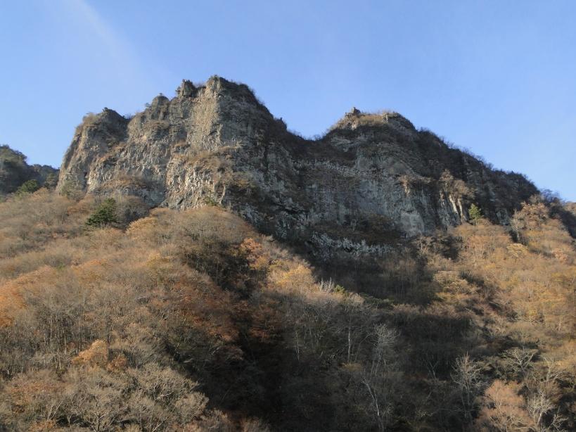 Mt Kondou the other main Myougi peak
