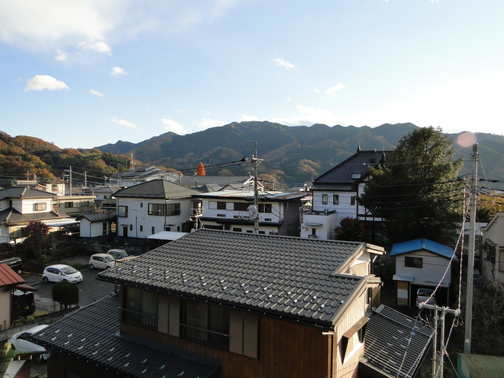 Mt Sekirou from Sagamiko Station