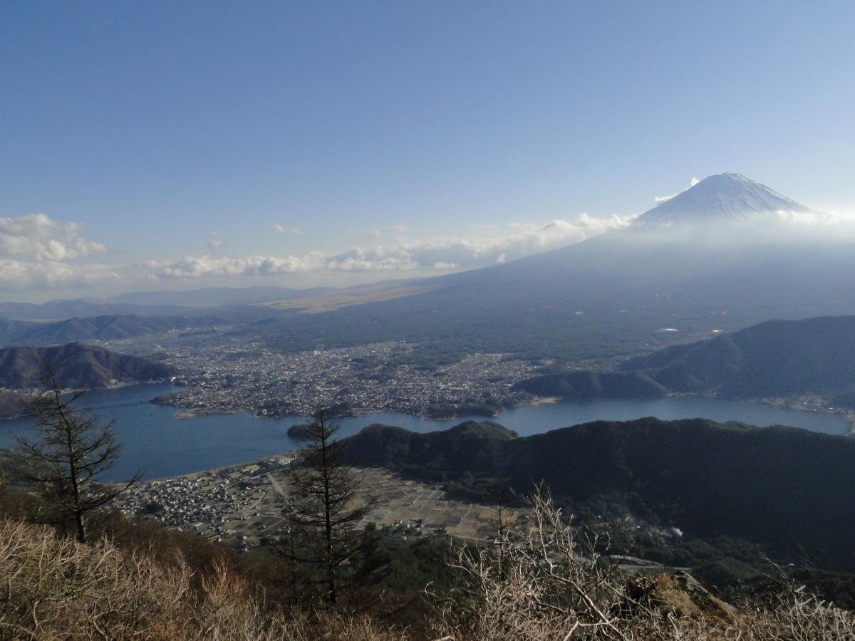 Mt Kuro (1792m), Fuji-kawaguchiko City, YamanashiPrefecture