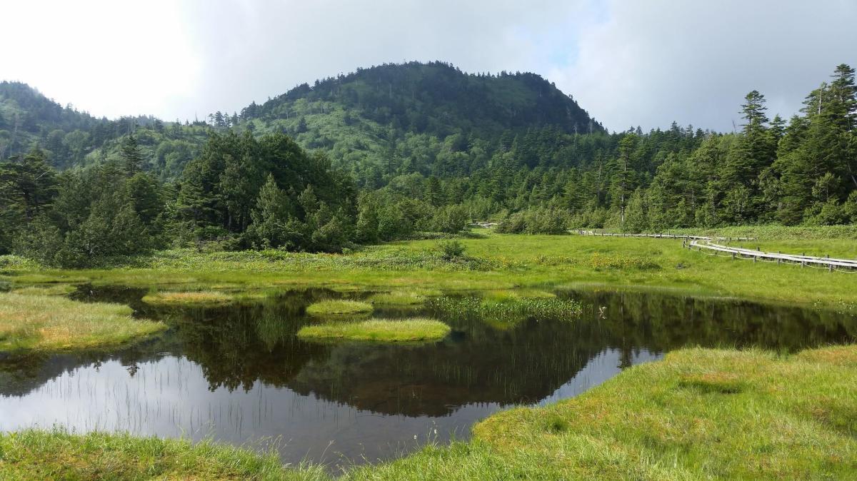 Mt Yokote (2307m) & Mt Shiga (2037m), Yamanouchi Town, NaganoPrefecture