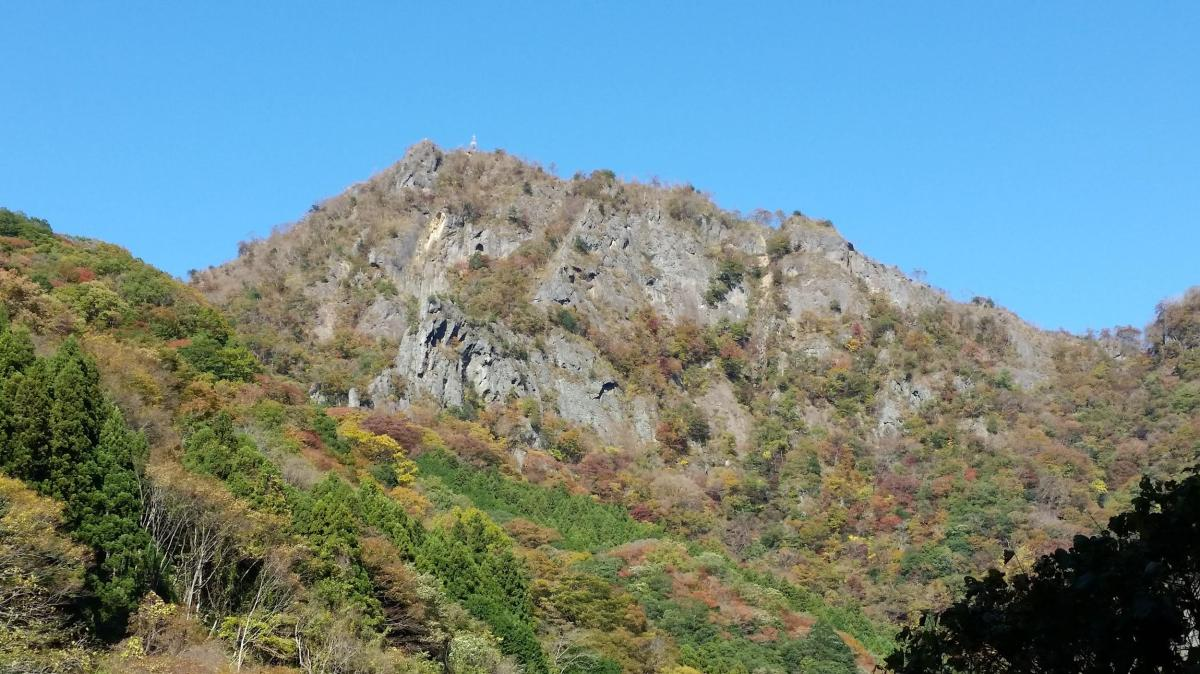 Mt Nantai (654m), Daigo Town, IbarakiPrefecture