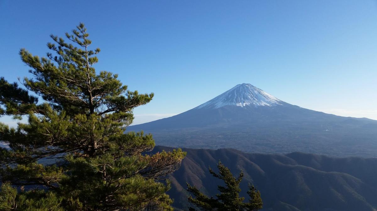 Mt Settou (1736m), Mt Junigadake (1683m) Kawaguchiko Town, YamanashiPrefecture