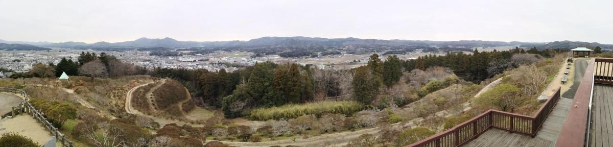 Mt Sashiro (205m), Kasama City, Ibaraki Prefecture, Saturday, March 7, 2020