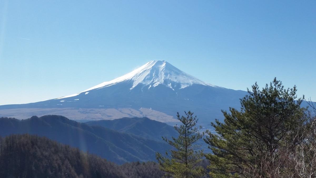 Mt Kurami (1256m), Tsuru City, YamanashiPrefecture