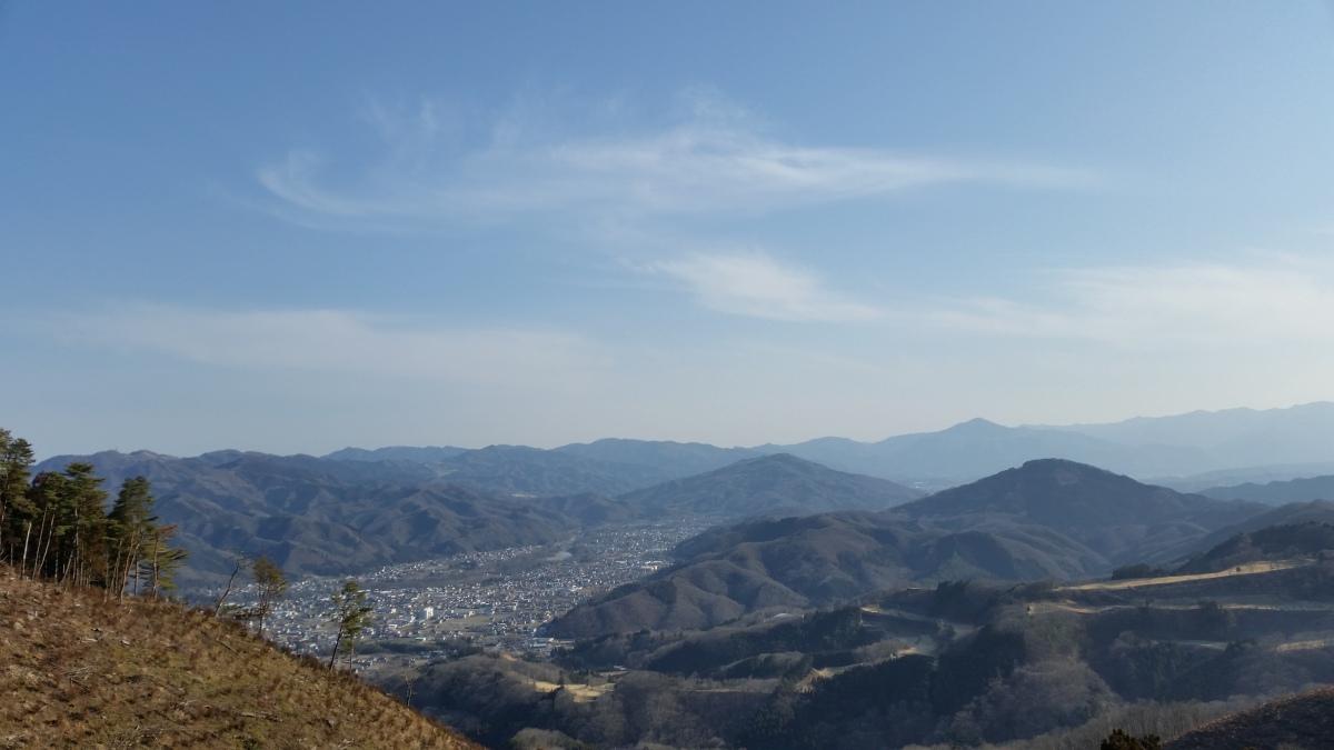 Mt Kanetsukido (330m), Yorii Town, SaitamaPrefecture