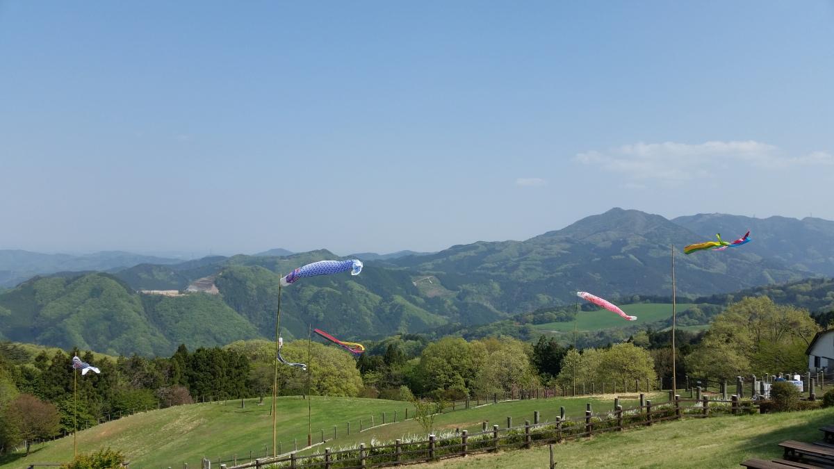 Mt Mino (587m), Minano Town, Saitama Prefecture (Utsukushii noYama)