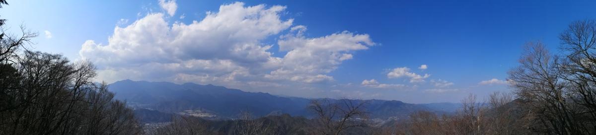 Mt Takahata (982m) & Mt Kuki (970m), Otsuki City, YamanashiPrefecture