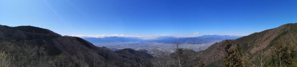 Mt Kasuga (1158m), Mt Meisho (1236m) & Mt Inayama (1112m), Fuefuki City, YamanashiPrefecture