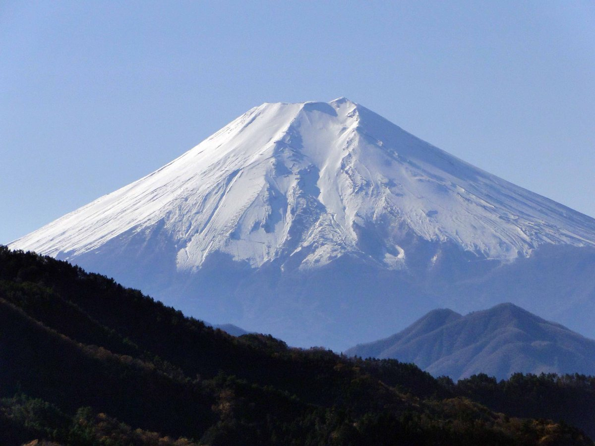 Mt Momokura (1003m) & Mt Ogi (1138m), Otsuki City, YamanashiPrefecture