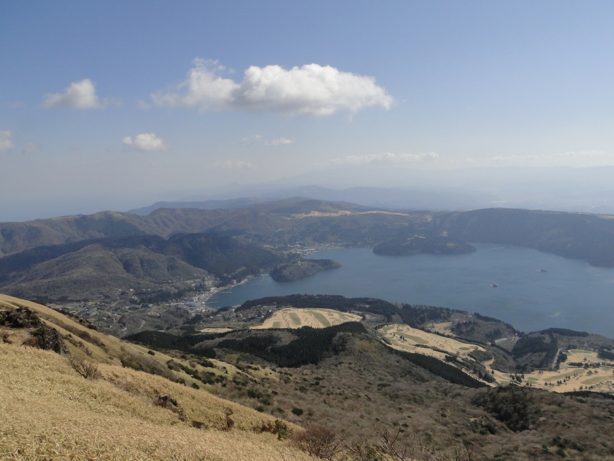 Mt Hakone (1438m) & Mt Koma (1356m), Hakone Town, KanagawaPrefecture