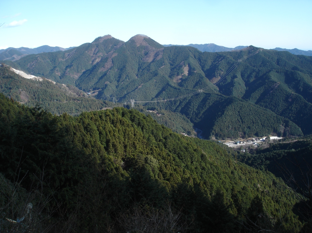 Mt Warabi (1044m), Hanno City, SaitamaPrefecture