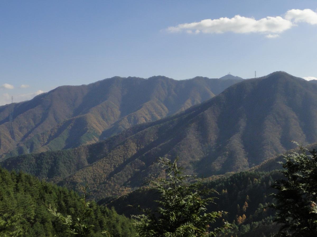 Mt Sasago-Gangaharasuri (1358m), Otsuki City, YamanashiPrefecture