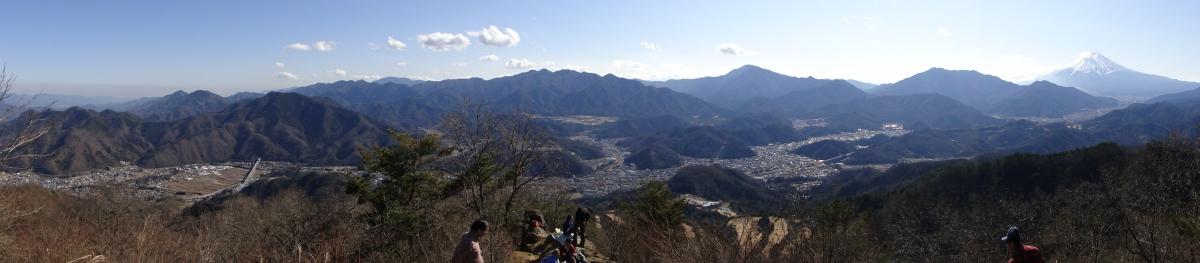 Mt Takakawa (976m), Tsurushi City, YamanashiPrefecture