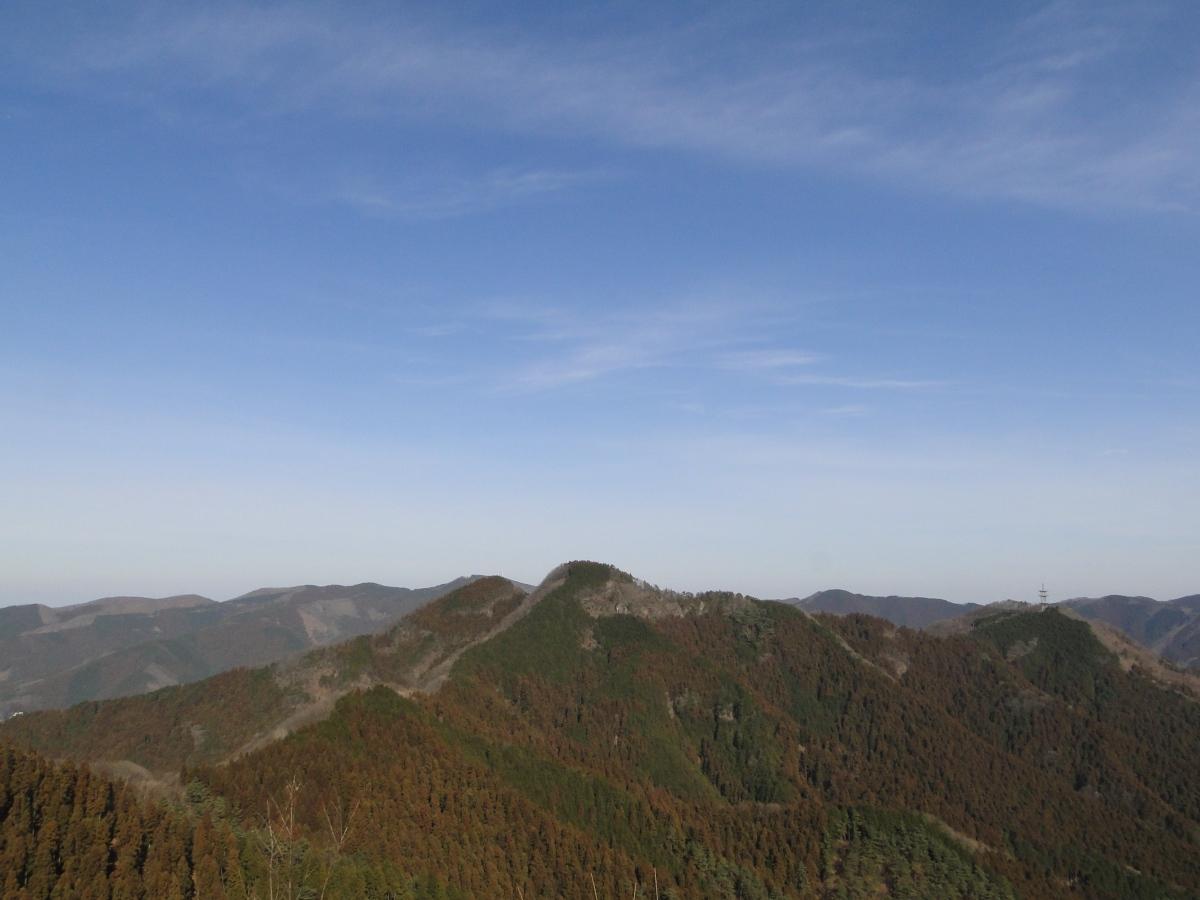 Mt Takegawa (1052m), Mt Futago (883m), Yokoze Town, SaitamaPrefecture