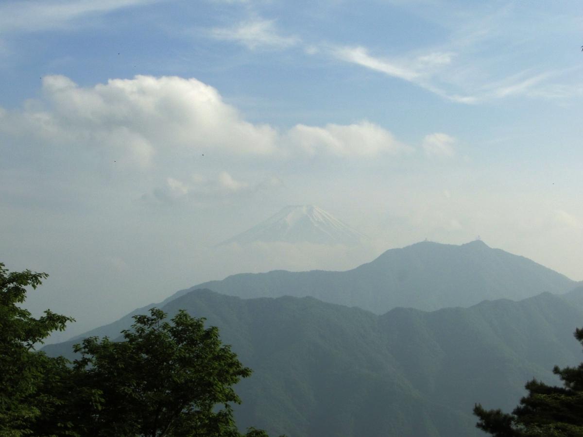 Mt Takigo (1620m), Otsuki City,YamanashiPrefecture