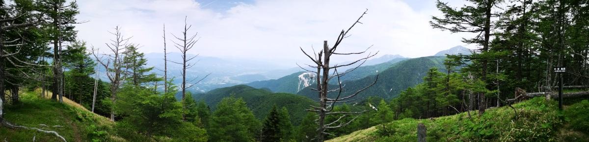 Mt Amagoi (2037m), Hokuto City, YamanashiPrefecture