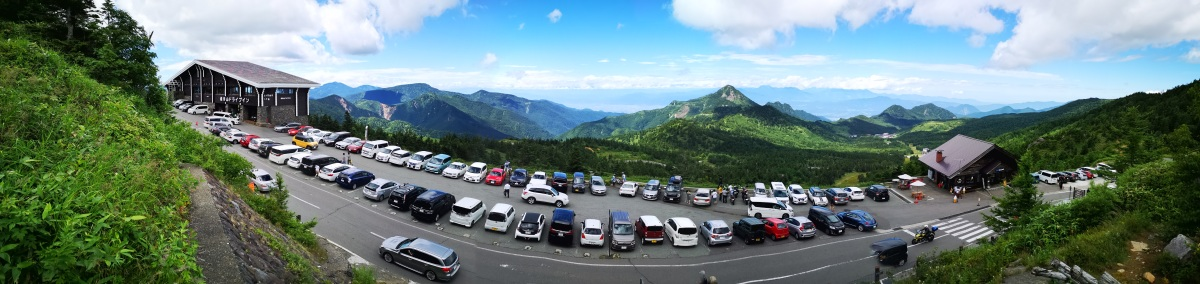 Mt Hachi (2041m), Mt Akaishi (2109m) & Mt Terakoya (2125m), Yamanouchi Town, NaganoPrefecture