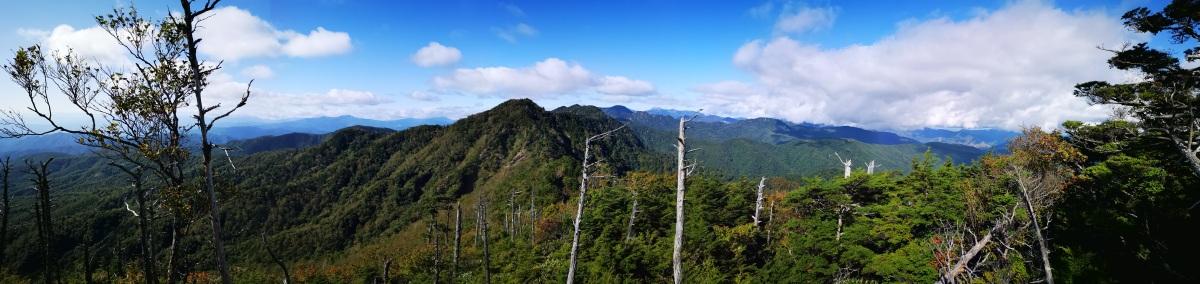 Mt Mae-Kesamaru (1878m), Midori Town, Gunma & TochigiPrefectures
