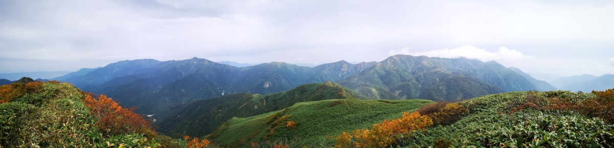 Mt Daigenta (1598m) & Mt Nanatsugoya (1675m), Yuzawa Town, Niigata Prefecture, Saturday, October 3rd,2020
