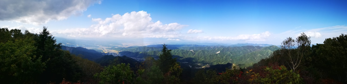 Mt Morai (1717m), Sakuho Town, Nagano Prefecture, Monday, October 5th, 2020