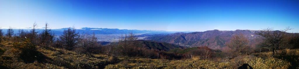 Mt Mae-Hachibuse (1836m) & Mt Hachibuse (1928m), Okaya City, Nagano Prefecture, November2020