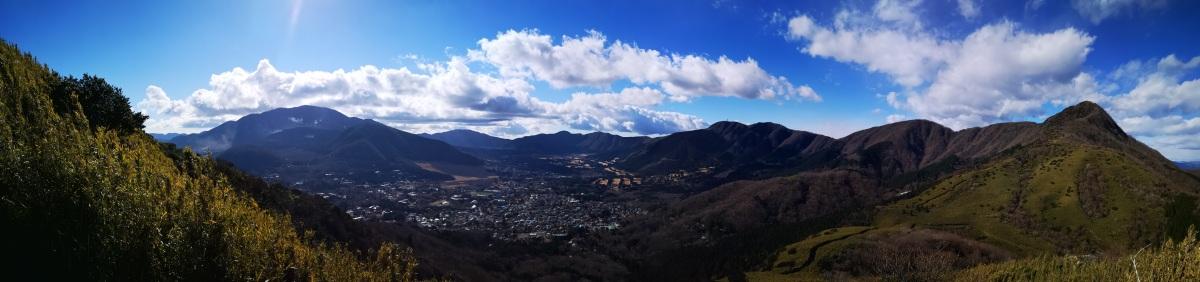Mt Myojin (1169m), Hakone Town, Kanagawa Prefecture, December2020