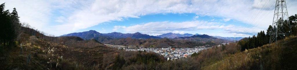 Tsuru Alps, Tsuru City, Yamanashi Prefecture, December2020