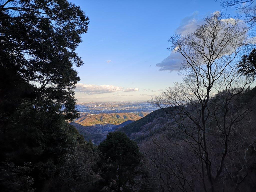 Mt Haku (284m) and Mt Kane (561m), Atsugi City, Kanagawa Prefecture, January2021