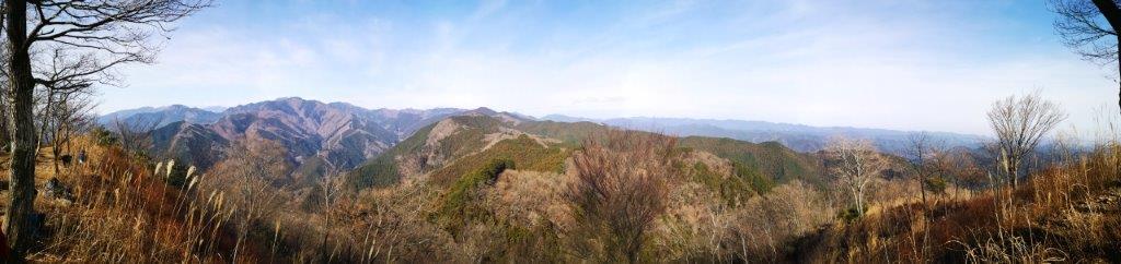 Mt Iwatakeishi (793m), Mt Kuro (842m) & Mt Onita (505m), Ome and Hanno Cities, Tokyo and Saitama Prefectures, January2021