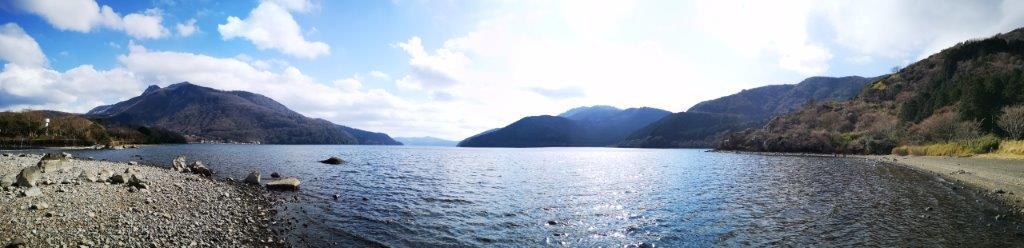 The Sengoku-Hara Kojiri Nature Trail and Ashi Lake West Shore Trail, Hakone Town, KanagawaPrefecture