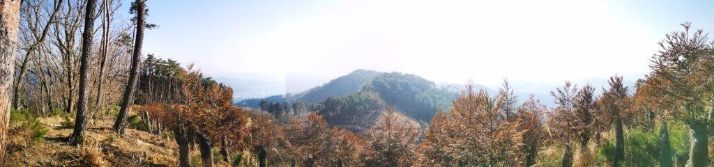 Mt Azuma (481m), Kiryu City, GunmaPrefecture