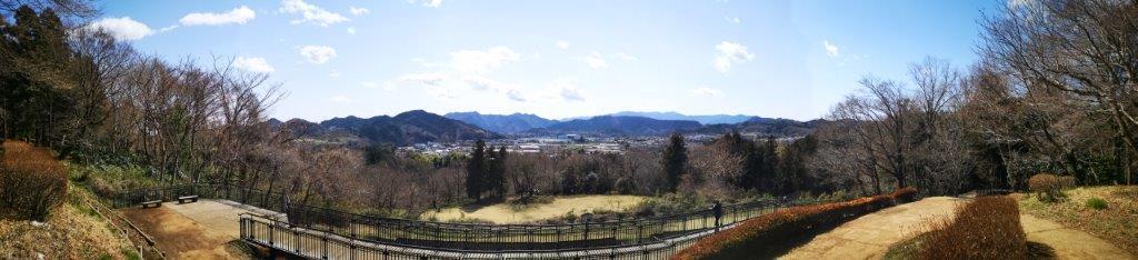 Mt Tsukui-Shiro (375m) and Mt Amagoi (429m), Sagamihara City, KanagawaPrefecture