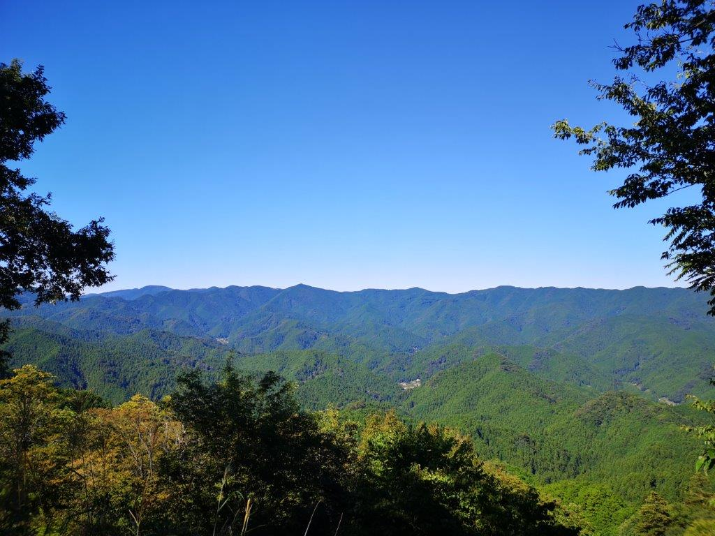 Hanno Alps from Nenogongen Temple (510m) to Maezaka (425m), Hanno City, SaitamaPrefecture